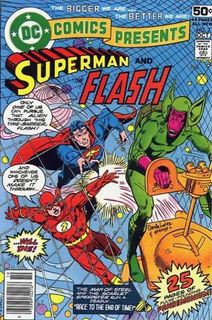 DC Comics presents 2 - Race To The End Of Time!