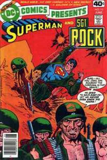 DC Comics presents 10 - The Miracle Man Of Easy Company