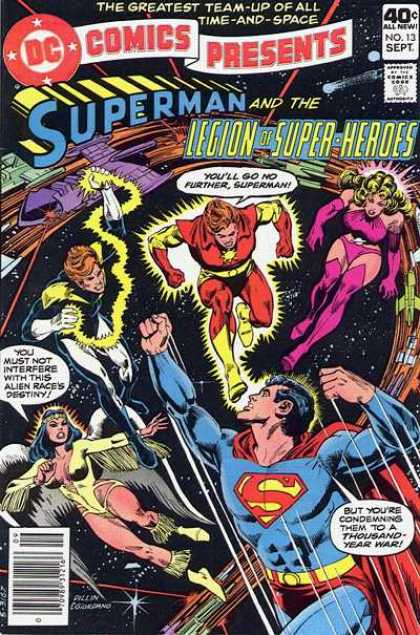 DC Comics presents 13 - To Live In Peace--Nevermore!