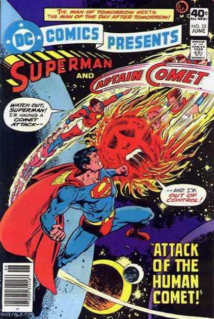 DC Comics presents 22 - Plight Of The Human Comet!
