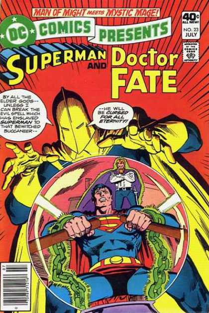 DC Comics presents 23 - The Curse Out Of Time!