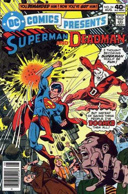 DC Comics presents 24 - The Man Who Was The World!