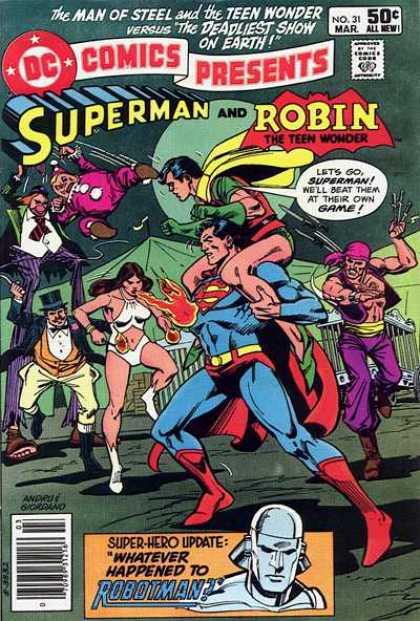 DC Comics presents 30 - A Dream Of Demons!