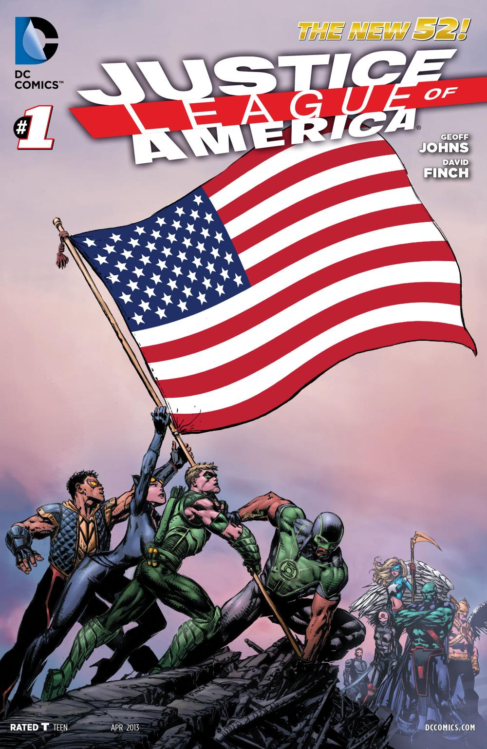 Justice League Of America 1 - World's Most Dangerous, Chapter One