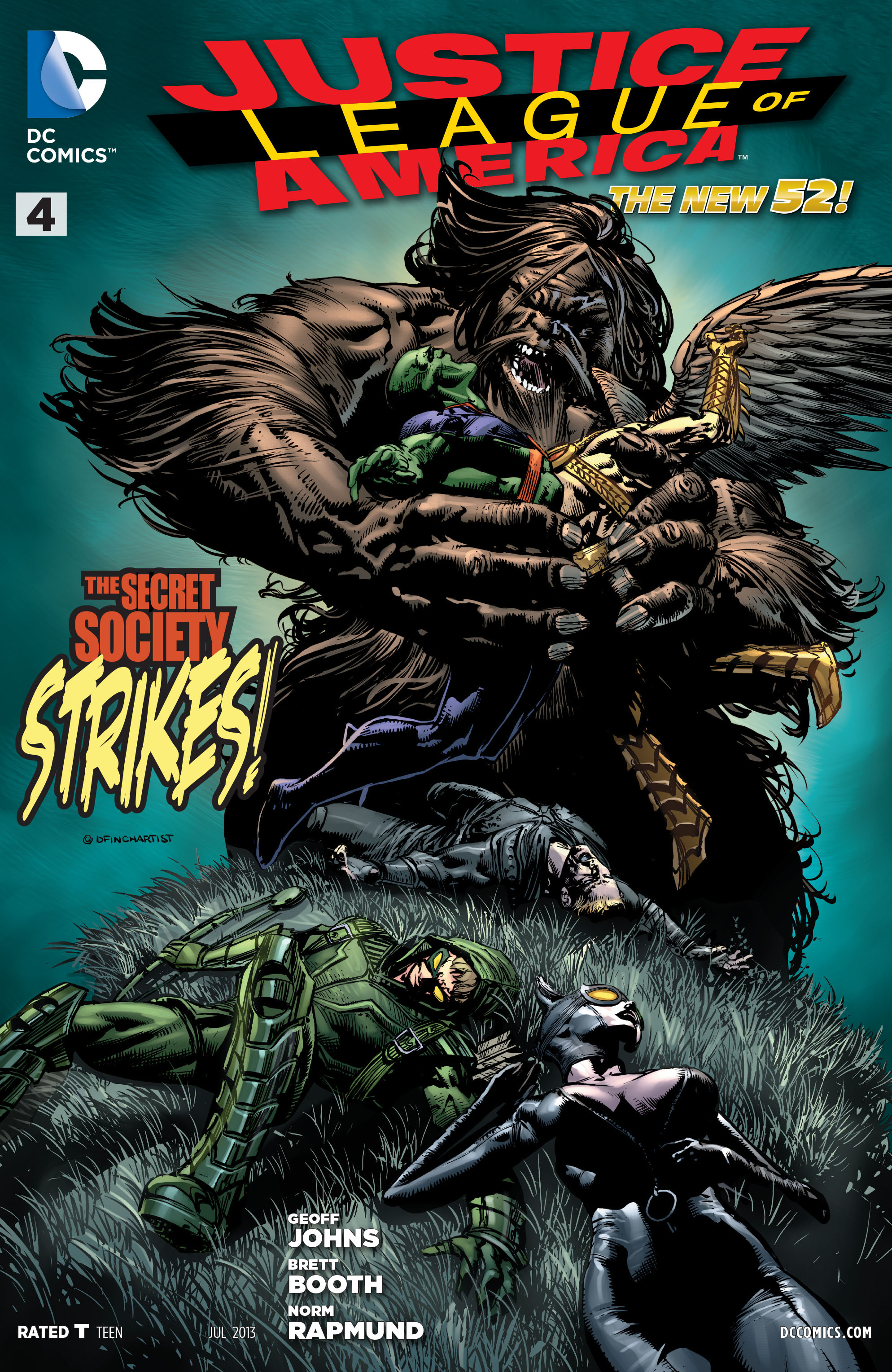 Justice League Of America 4