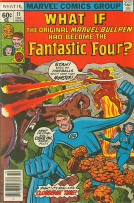 Et Si... 11 - What If The Fantastic Four Were the Original Marvel Bullpen?
