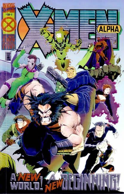 X-Men Alpha 1 - Beginnings...