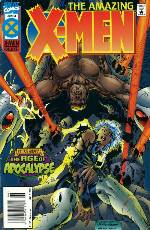 Amazing X-Men 4 - On Consecrated Ground