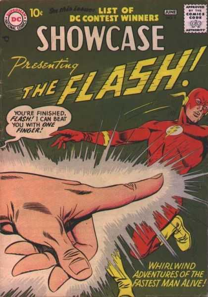 Showcase 8 - Presenting THE FLASH!