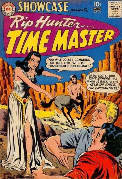 Showcase 21 - presents Rip Hunter . . . TIME MASTER