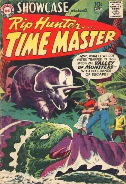 Showcase 25 - presents Rip Hunter . . . TIME MASTER