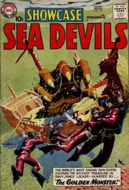 Showcase 27 - presents SEA DEVILS