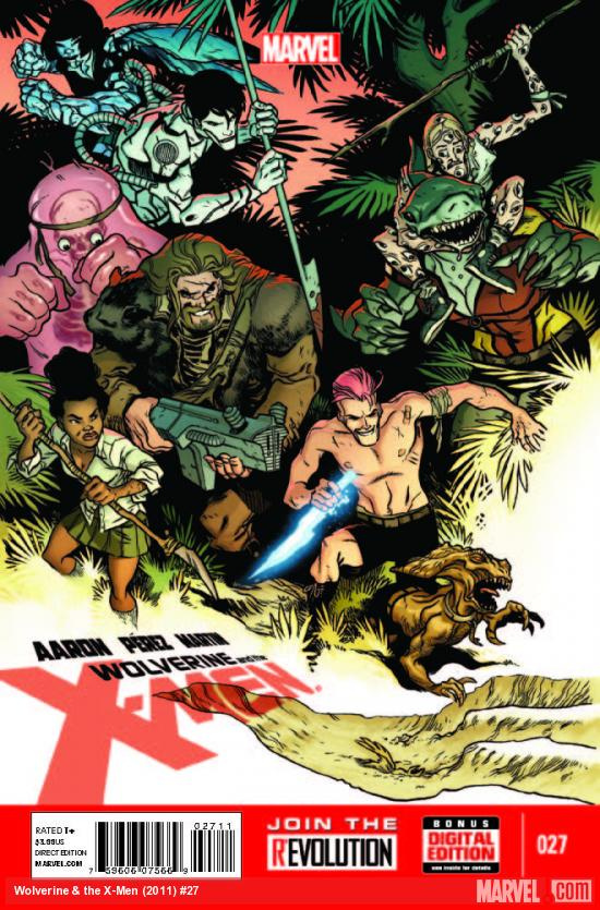 Wolverine And The X-Men 27