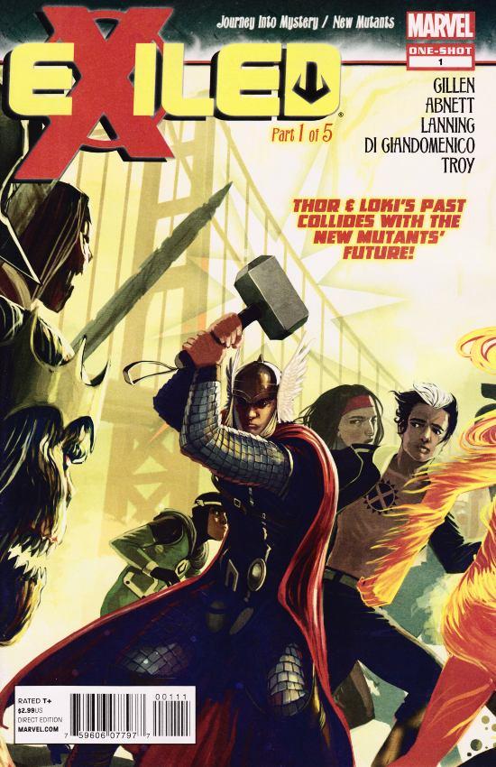 New mutants & Loki - En exil 1 - Of Gods And X-Men