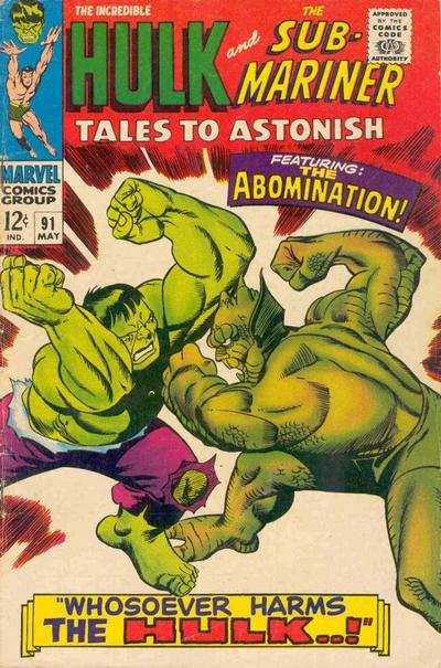 Tales To Astonish 91