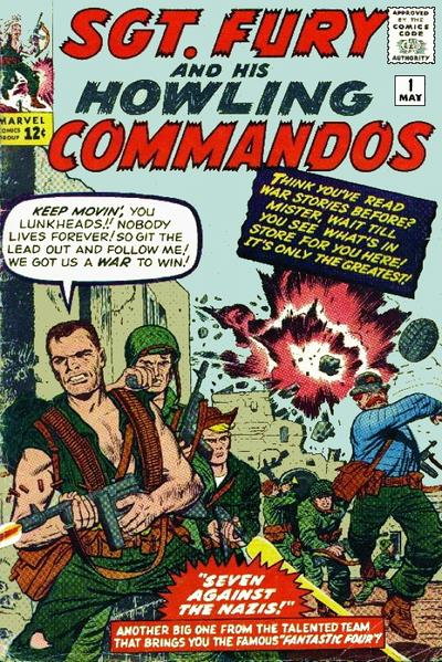 Sgt. Fury And His Howling Commandos 1 - Seven Against The Nazis