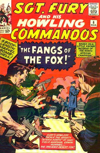 Sgt. Fury And His Howling Commandos 6 - The Fangs of the Desert Fox