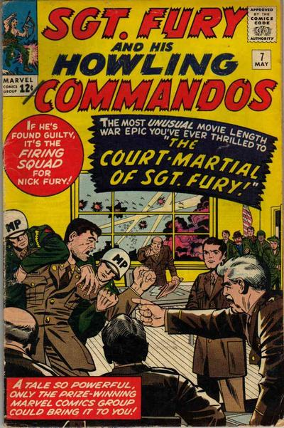 Sgt. Fury And His Howling Commandos 7 - The Court-Martial of Sgt. Fury