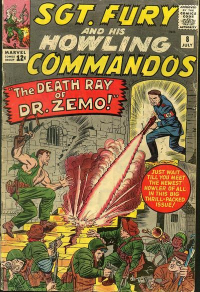 Sgt. Fury And His Howling Commandos 8 - The Death Ray of Dr. Zemo