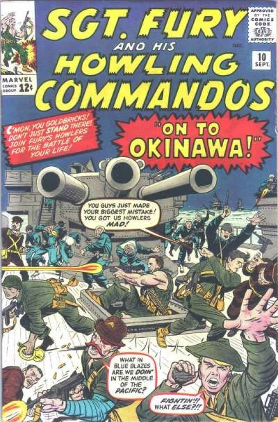 Sgt. Fury And His Howling Commandos 10 - On To Okinawa