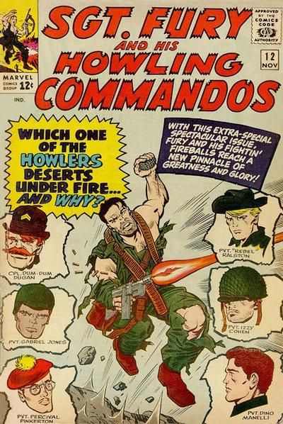 Sgt. Fury And His Howling Commandos 12 - When A Howler Turns Traitor