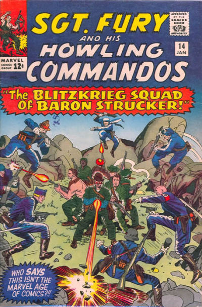 Sgt. Fury And His Howling Commandos 14 - The Blitzkrieg Squad of Baron Strucker