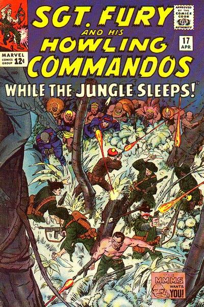 Sgt. Fury And His Howling Commandos 17 - While the Jungle Sleeps