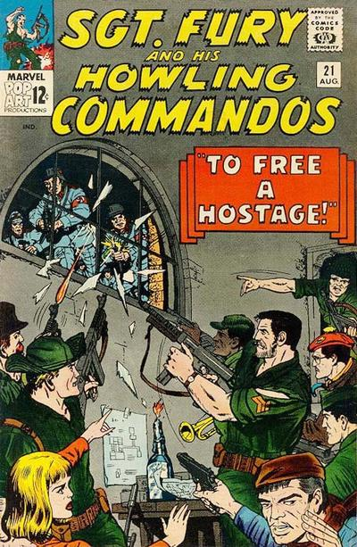 Sgt. Fury And His Howling Commandos 21 - To Free a Hostage