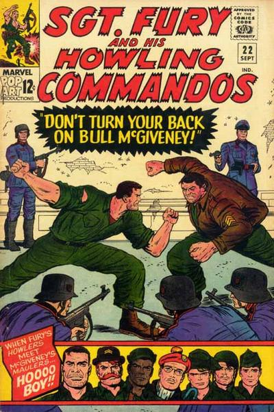 Sgt. Fury And His Howling Commandos 22 - Don't Turn Your Back On Bull McGiveney
