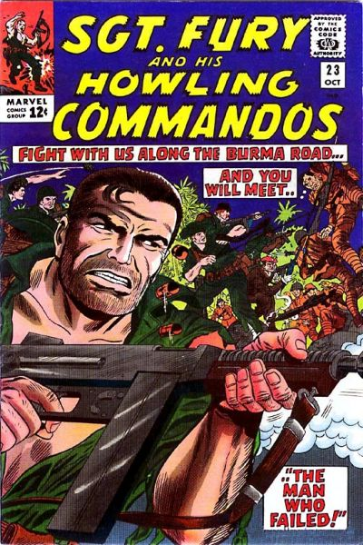 Sgt. Fury And His Howling Commandos 23 - The Man Who Failed