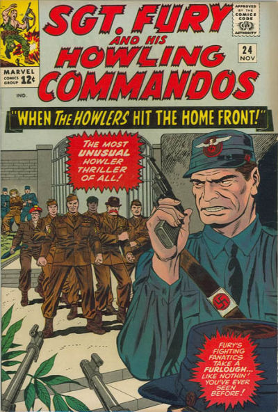Sgt. Fury And His Howling Commandos 24 - When the Howlers hit the Home Front