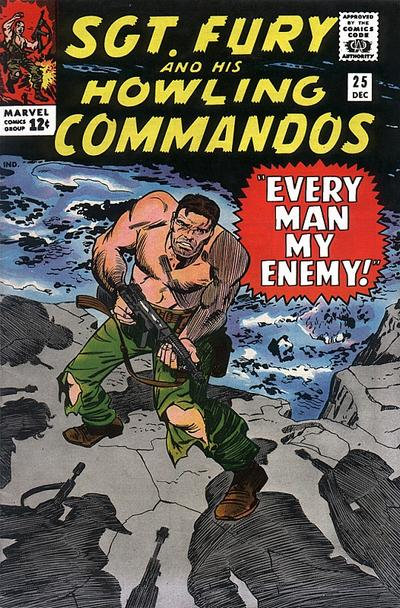 Sgt. Fury And His Howling Commandos 25 - Every Man My Enemy