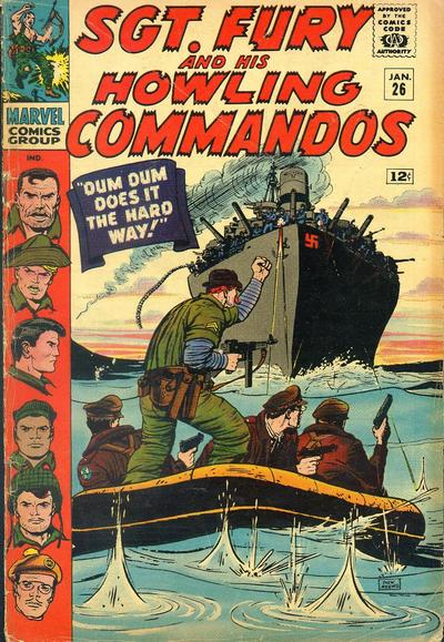 Sgt. Fury And His Howling Commandos 26 - Dum-Dum does it the hard way!