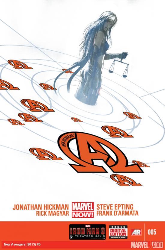 New Avengers 5 - Black Swans
