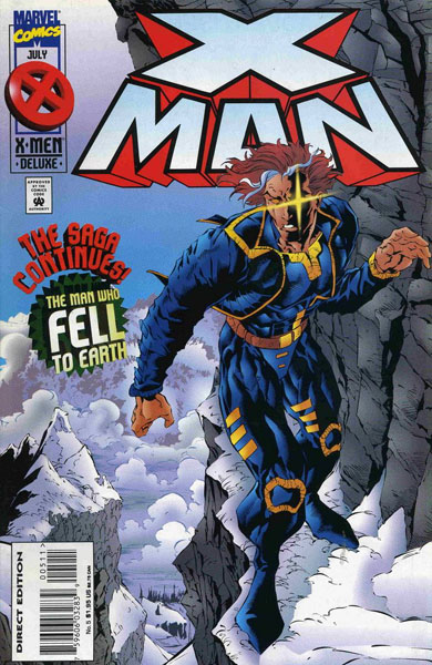 X-Man 5 - The Man Who Fell To Earth