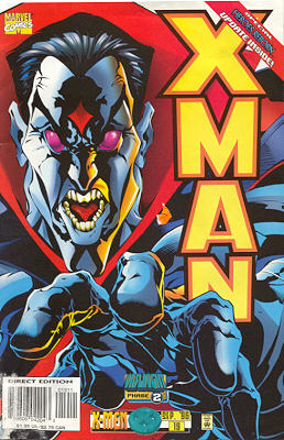 X-Man 19 - Shades of Grey