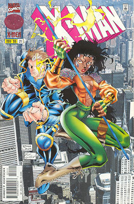 X-Man 21 - Open Cage