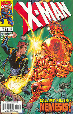 X-Man 44 - Nowhere to Hide