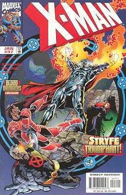 X-Man 47 - Dreams End