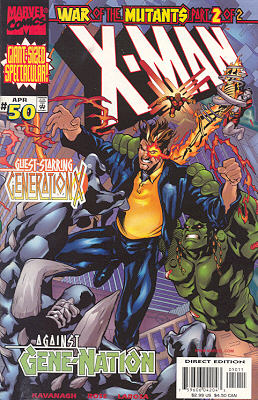 X-Man 50 - War of the Mutants Part 2