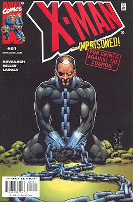 X-Man 61 - septembreing Forward