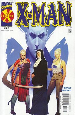 X-Man 73 - Fearful Symmetries: part three