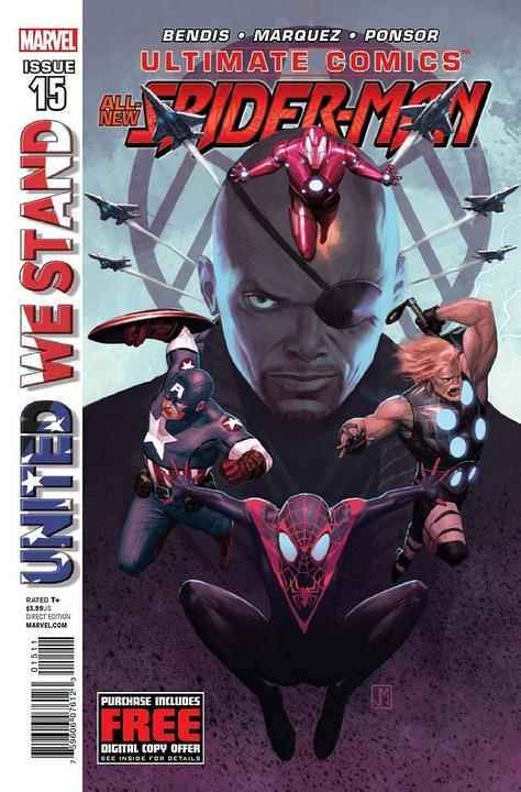 Ultimate Comics - Spider-Man 15 - United We Stand
