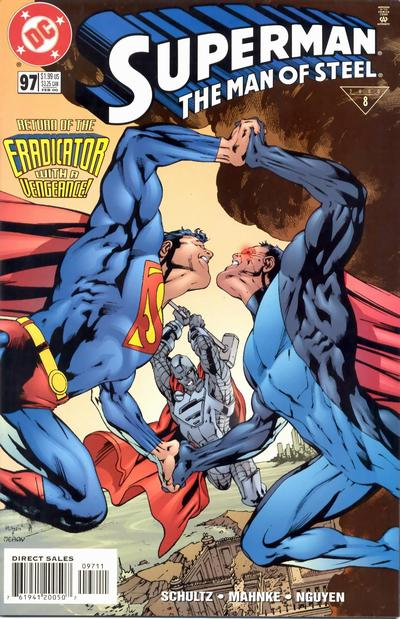 Superman - The Man of Steel 97 - Bridge the Past and Future