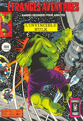 Etranges Aventures 46 - L'Invincible Hulk