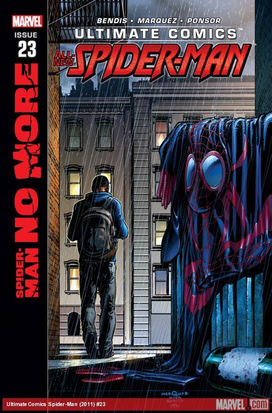Ultimate Comics - Spider-Man 23 - Spider-Man No More: Part 1 of 6