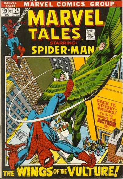 Marvel Tales 34 - The Wings of the Vulture