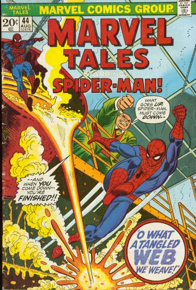 Marvel Tales 44 - What a Tangled Web We Weave--!