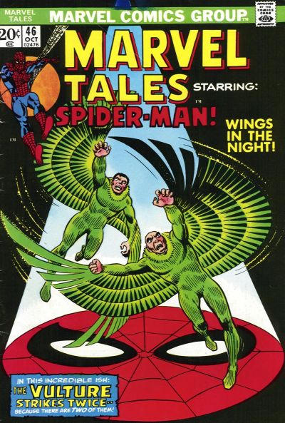Marvel Tales 46 - Wings in the Night!