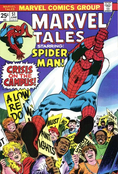 Marvel Tales 51 - Crisis on the Campus!